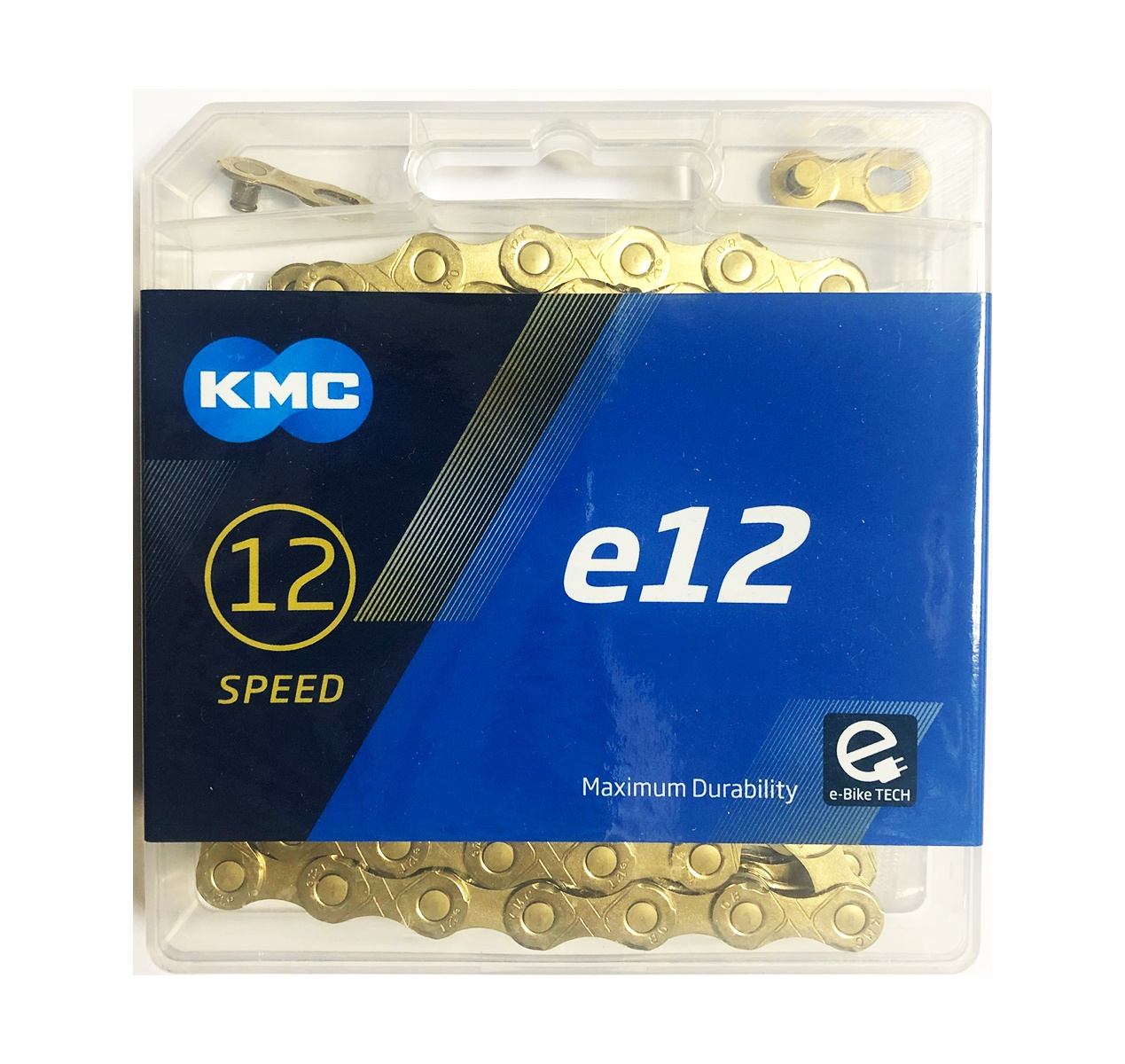 Køb KMC E12 Ti-N eBike 12 speed 130 links Cykelkæde